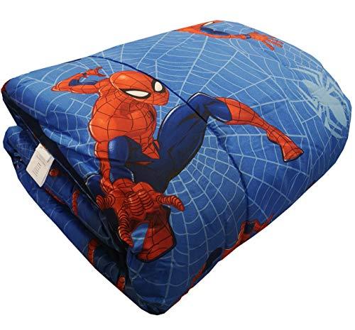 Edredón de invierno Disney – Marvel original para cama individual 1 plaza 170 x 260 cm niño niña (Marvel Spiderman)