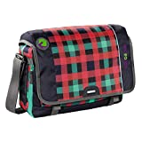 Coocazoo City and School Hangdang Schultertasche mit Laptopfach 44 cm checky mint