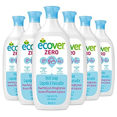 Ecover Liquid Dish Soap, 6 Count