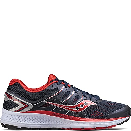 Saucony Men's Omni 16 Running Shoe, Navy Red, 9 M US