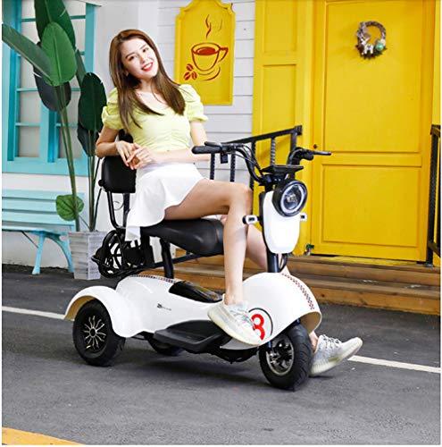 Xiaokang Señoras Hermoso Pequeño Triciclo eléctrico Scooter Pick Up Children Mini Small Damas Skateboard Battery Car