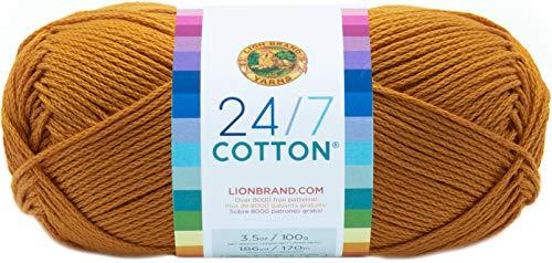 Lion Marke Garn Company Baumwolle Garn, 100% Baumwolle, Goldrute