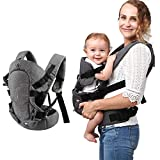Xatan Baby Convertible Carrier, All Carry Position Newborn to Toddlers Ergonomic Carrier