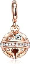NINAQUEEN/® Charm et Perles Espaceurs Organiser des Perles en d/ésordre Argent Sterling 925 Zircone avec Boite Cadeau