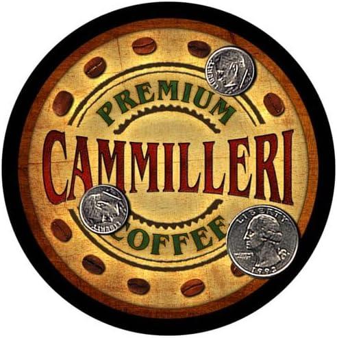 Cammilleri Coffee Custom Neoprene Rubber 5 popular 4 Coasters favorite - Drink pcs
