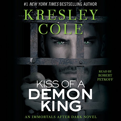 Kiss of a Demon King: Immortals After Dark, Book 7 cover art