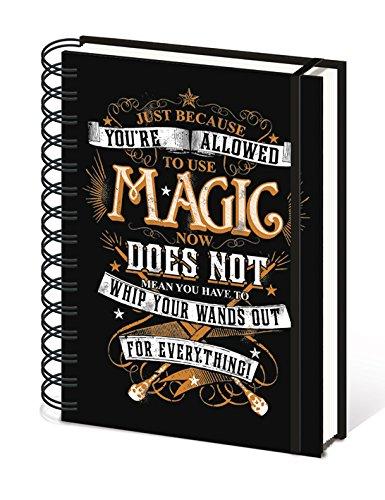 "Pyramid International A5SR72251Quaderno Harry Potter ""Magic"""