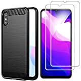 AOYIY For Xiaomi Redmi 9A Case And Screen Protector,[3 in