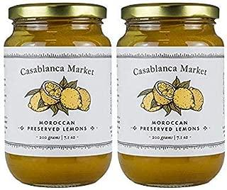 Casablanca Market Preserved Lemons, 26 Oz (Pack of 2)
