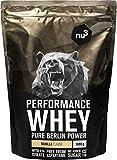 nu3 Whey Protein performance - 1kg Vanille – 33 portions de Shake prise de masse musculaire rapide à préparer -...