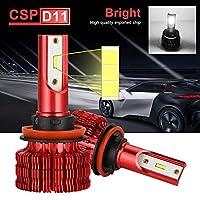 D11シリーズled電球odm led電球車のライト6500ション [6000kフォグライトこんにちは低led automotivo 12v 3D-H8 H9 H11