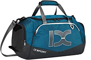 Travel Bag Gym Bag High Capacity with Shoes Compartment and Wet Dry Storage Pockets Waterproof & Durable Duffel Bag for Men and Women