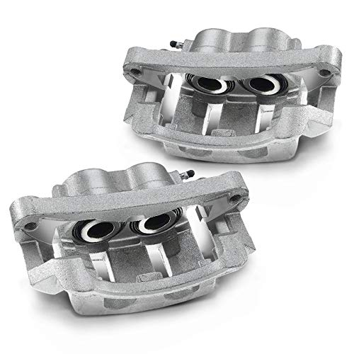 A-Premium Front Wheel Brake Calipers with Bracket Compatible with Ford Excursion 2000-2005 F-250 Super Duty F-350 Super Duty 1999-2004 5.4L 6.0L 6.8L 7.3L Left Right Set of 2
