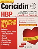 Coricidin Hbp Maximum Strength Flu, 20Count