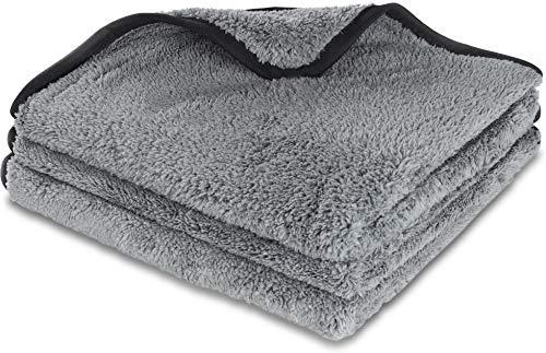 normani Premium Microfaser-Poliertuch Autoputztuch extra weiches & saugstarkes Reinigungstuch Farbe 3 Stück