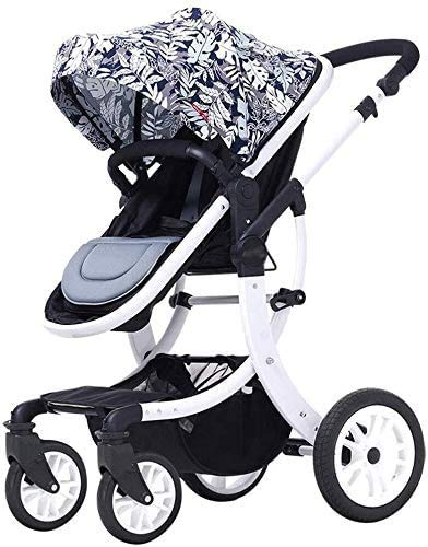 Fantastic Prices! JINHH Baby Stroller, Comfortable and Durable Prams Strollers Can Sit and Lie Down ...