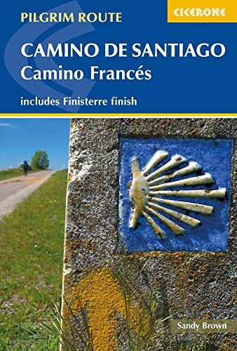 Camino de Santiago: Camino Frances: Guide and map book - includes Finisterre finish (Cicerone Guides)