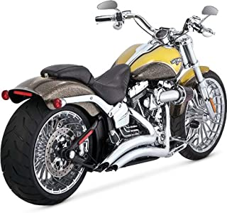 Vance and Hines Big Radius 2-Into-2 Full System Exhaust for Harley Davidson 2013-14 Breakout/CVO Breakout models - One Size