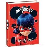 Agenda scolaire 12 mois Miraculous Ladybug non daté collection 2020-2021