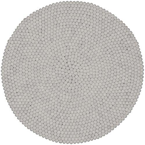 myfelt Filzkugelteppich Linéa - 90 cm