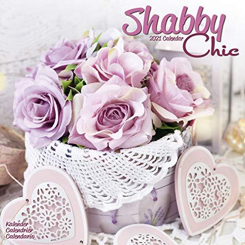 Shabby Chic 2021 Wall Calendar