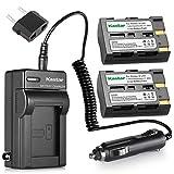 Kastar Battery (2X) and Charger for Pentax D-Li50 Konica Minolta NP-400 and Pentax K10 K10D K20 K20D Minolta A-5 A-7 Dimage A1 A2 Dynax 5D 7D Maxxum 5D 7D Samsung SLB-1647 GX-10/20 Sigma BP-21 SD1