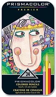 Prismacolor Premier彩色铅笔,软芯,24色
