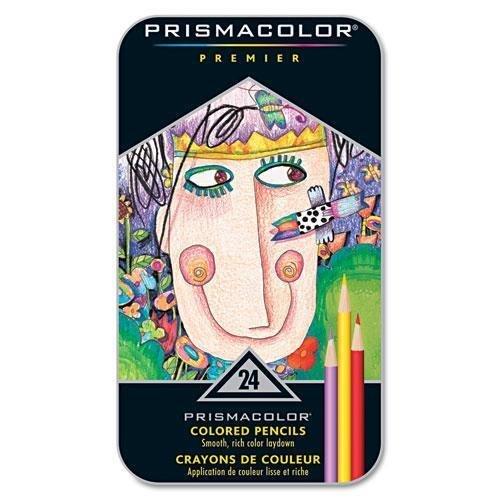 Prismacolor Premier Matite Colorate Set 24/Tin