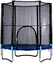 6ft Trampoline Kleine fitness is geschikt voor volwassenen en kinderen met een maximale belasting van 200 kg De stuitering...
