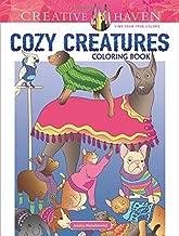 Creative Haven Cozy Creatures Coloring Book (Creative Haven Coloring Books)