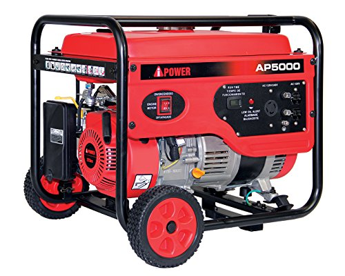 A-iPower AP5000V 5000-Watt Gas Powered Portable Generator Review