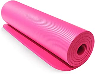 Yoga mat for Women 10mm Yoga Mat Exercise Pad Thick Non Slip Folding Gym Fitness Mat Pilates Outdoor Indoor Training Gym E...