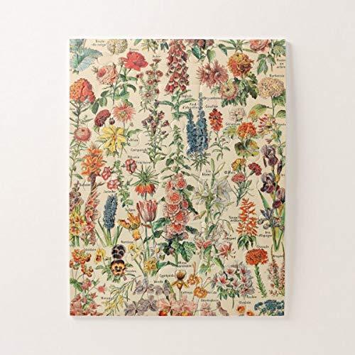 Puzzle vintage con fiori da 1000 pezzi, puzzle sfidanti e educativi, puzzle per bambini e adulti