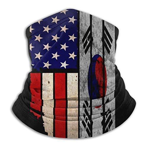 Alive Inc Multifunktionale Schutzgesichtsmaske Vintage USA Spanien Flagge & eacute; Sturmhaube Mikrofaser Neck Warmer Skimaske