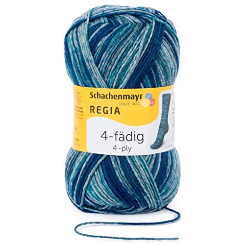 Schachenmayr REGIA Handstrickgarne 4-Fädig Color, 50G Wild Teal