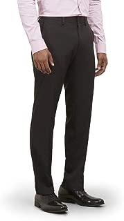 Men's Techni-Cole Mini Check Modern Fit Flat Front Dress Pant