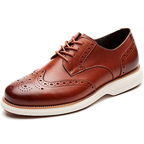 Men's Oxford Lace-up Dress Shoes by LAOKS