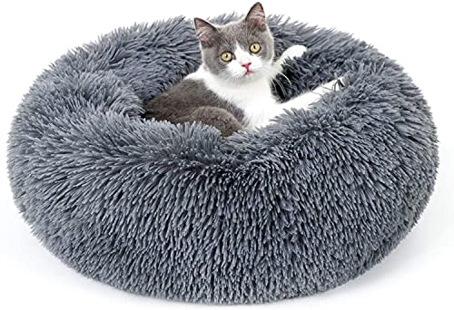 rabbitgoo Panier Chat, Coussin Chien Chat Rond...