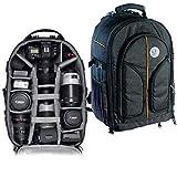 VTS® DSLR Camera Backpack Bag Waterproof for Lens Accessories Tripod monopod Heavy Duty