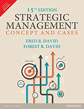 Strategic Management: Concepts and Cases 9332548935 Book Cover