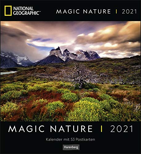 Magic Nature Postkartenkalender National Geographic Kalender 2021