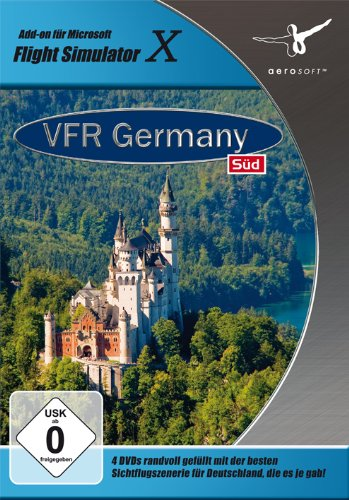 Flight Simulator X - VFR Germany 3:Süd (Add-On)