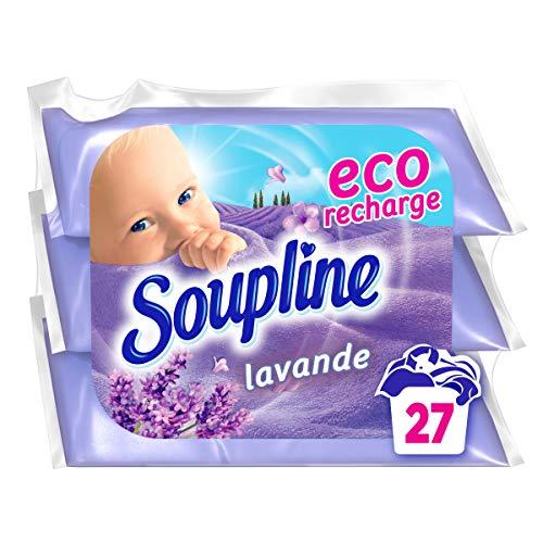 Soupline - Suavizante de lavanda ecológico, recambios para