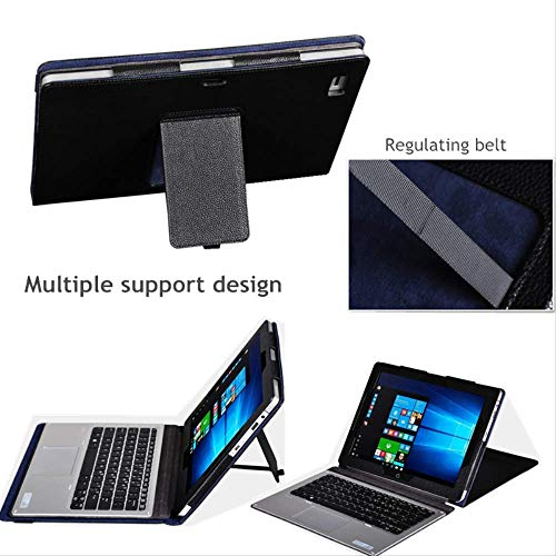 XXIUYHU Para HP Elite X2 1012 G2 Funda para Tableta Soporte De Cuero De PU Soporte para Tableta HP Elite X2 1020 G1 G2 Funda De Tableta De 12.3 '' Pulgadas