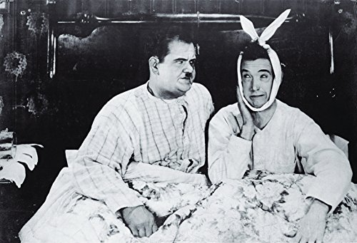 Laurel and Hardy Poster as Seen in Joey and Chandler�s Apartment on Friends TV Show (36� x 24�)