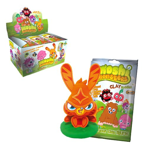 Moshi Monsters Clay Buddies Box (24 Pieces)