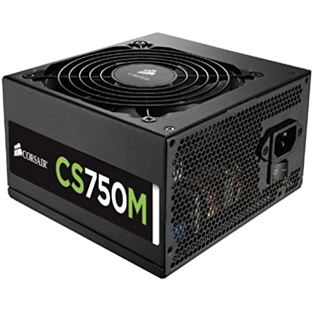 CORSAIR CSM Series, CS750M, 750 Watt, 80+ Gold Certified, Semi Modular Power Supply