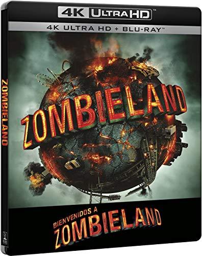 Bienvenidos a Zombieland - Edición Especial Metálica (4K UHD + BD) [Blu-ray]