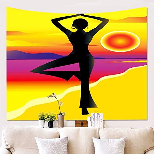 Tapiz De Microfibra Lavado Mural De Decoración De Pared Festiva Toalla De Playa Multifuncional, Toalla De Sofá, Manta De Picnic