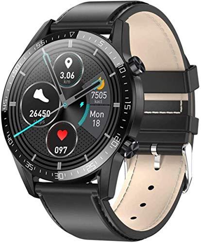 TYUI Reloj Inteligente Hombre Frecuencia Cardíaca Monitoreo de Temperatura Corporal IP68 Impermeable Fitness Tracker Smartwatch 2021-B
